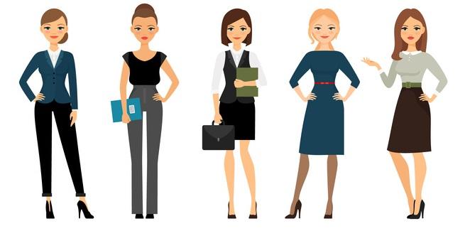 סגנון לבוש עסקי וייצוגי לפוליטיקאיות