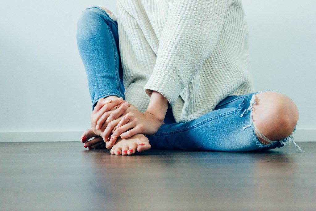 בחורה בג'ינס