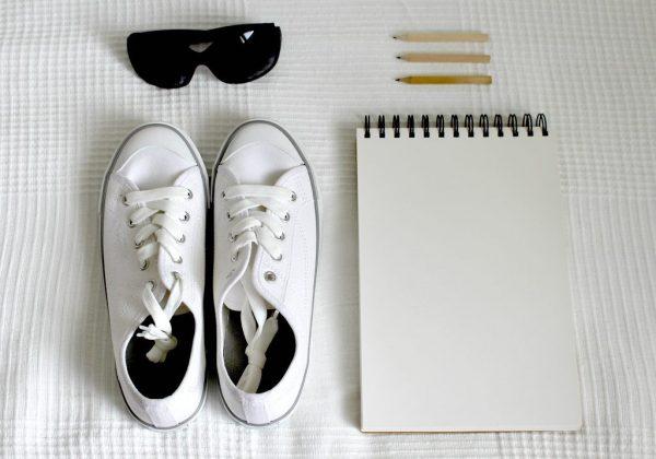 איך ללבוש לבן